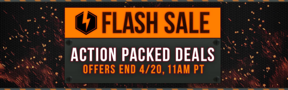 PSN April Flash Sale
