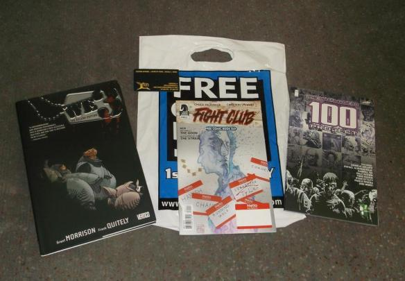 Free Comic Book Day Stuff (1)