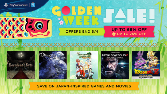 PSN Golden Week Sale