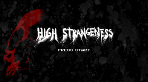 High Strangeness Start Screen