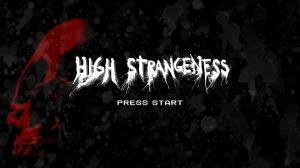 High Strangeness Start Screen
