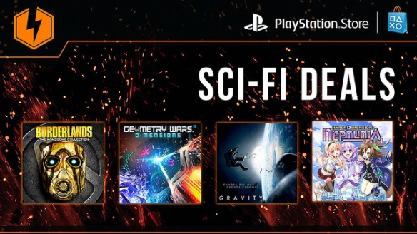 PSN Flash Sale Sci-Fi 2