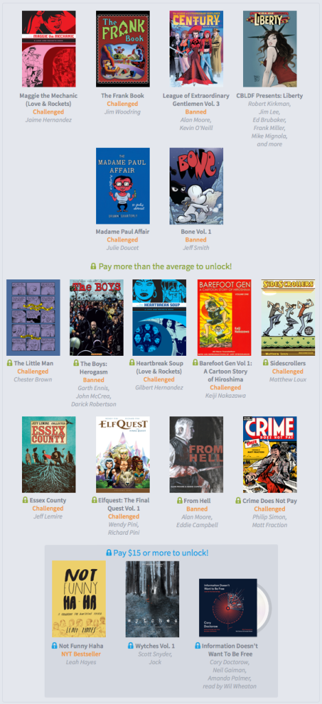 Humble Forbidden Comics Bundle