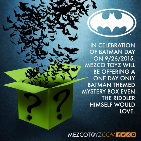 Mezco Batman Day Sale