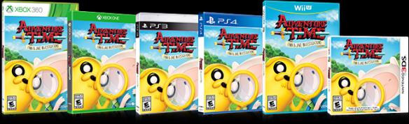 Adventure Time Finn & Jake Box Shots