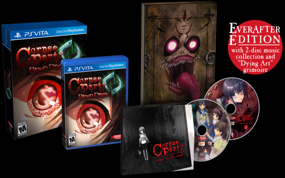 Corpse Party EverAfter Edition Vita