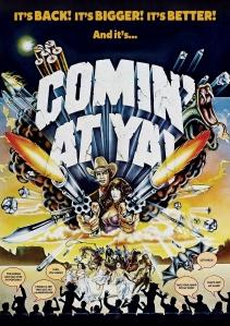 Comin at Ya DVD