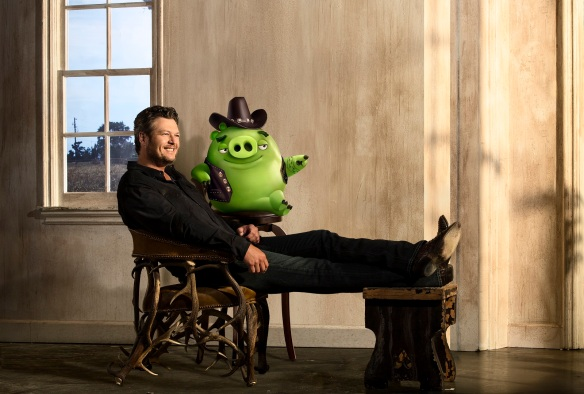 "Blake Shelton voices ""Earl"" in in Columbia Pictures and Rovio Animation's ANGRY BIRDS."