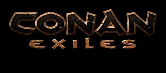 CONAN EXILES logo blk