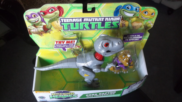 Robo Raptor w Triceraton