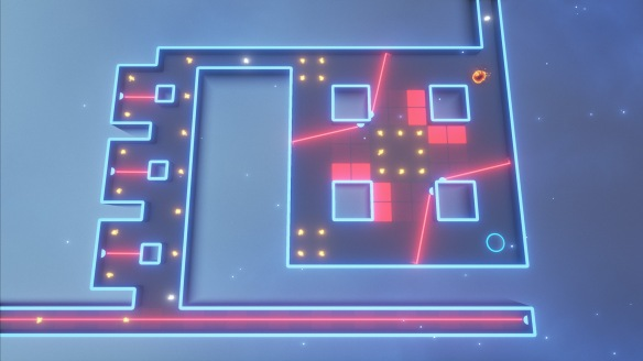 Cats go crazy for lasers, but you're NOT a cat and lasers in this game will make you crazy.