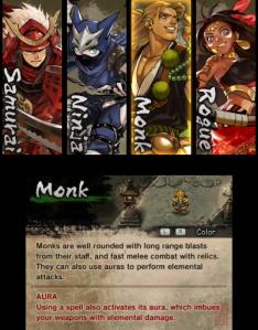 Monk select