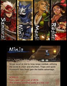Ninja select
