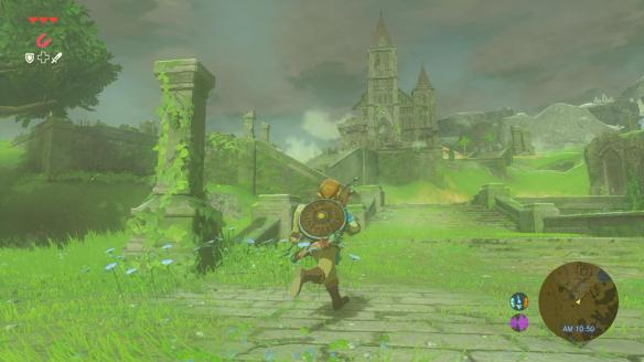 The game looks a million times better in person, trust me. The Miyazaki/Ghibli influenced style is strong in this one.