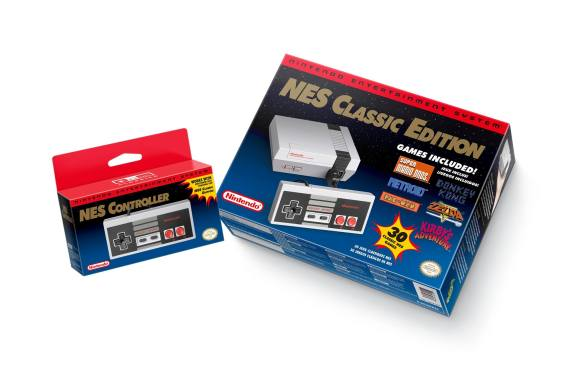 NES Classic Edition and NES Controller