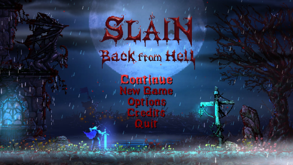 Slain Back From Hell TS