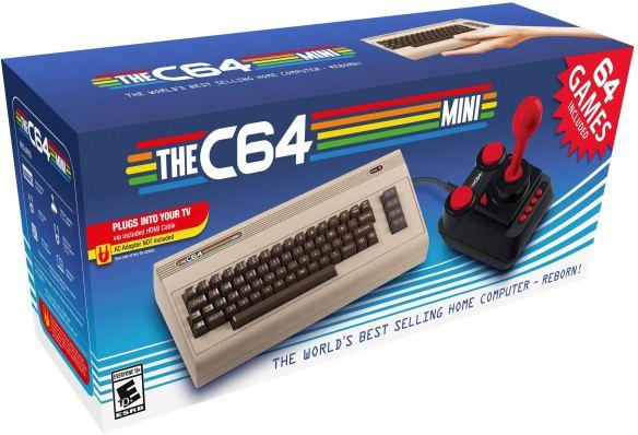C64 mini boxed
