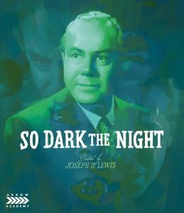 So Dark the Night cover