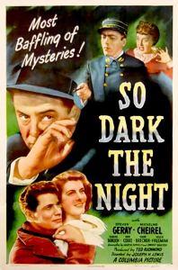 So Dark the Night MP