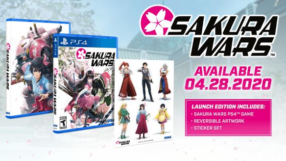 Sakura Wars preorder